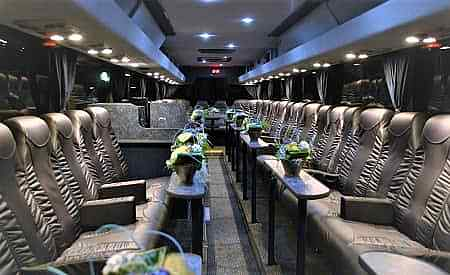 Vipbus Rental, the Reference VIP Lounge