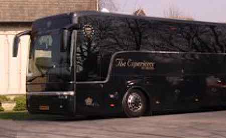 Vipbus huren Rotterdam The Hague Airport