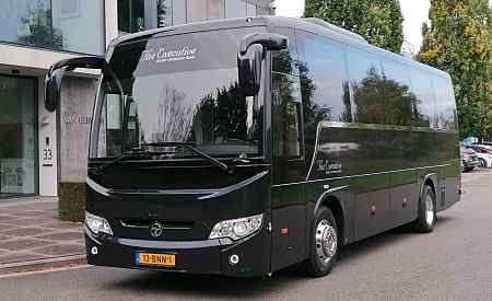 hire a luxury bus schiphol airport