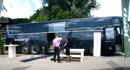 Roadshow bus huren